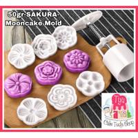 50gr-SAKURA-Mooncake Mold