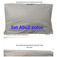Sarung Bantal 100%cotton/Guling Lady Americana/BantalHotel/ KingKoil/