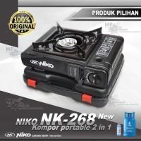 Niko Kompor Gas Portable 2in1 NK 268