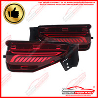 BUMPER LAMP - TOYOTA FORTUNER 2015-ON - RED - LIGHT BAR - SEQUENTIAL