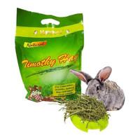 makanan kelinci TIMOTHY HAY natural 500 gr rumput