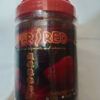 makanan ikan hias armada super red Chili 425 gr