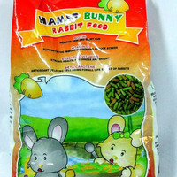 makanan kelinci HAMS BUNNY 1 kg parrot no briter bunny