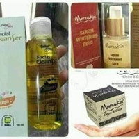 Paket Glowing Moreskin Nasa - Serum Gold - Collagen Cleanser