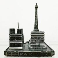 Miniatur Pajangan Paris 3 Landmark Silver