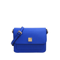 Les Catino W. Odetta Flap Crossbody Nautical Blue