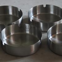 Asbak Stainless Steel (diameter 10 Cm)