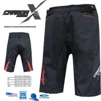 Celana Sepeda STR CARBON X2 | Size L | Dengan padding 3D cooltech