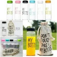 My Bottle Infused Water / Botol Plastik Bhn Tristan + pouch