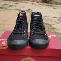 BNIB Sepatu Compass Gazelle High Fullblack size 42 ada 2