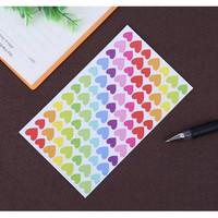 Label Stickers - Heart/Pentagram/Round Shape (6 sheet)
