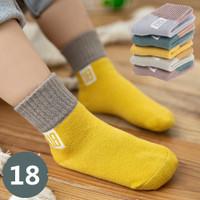 [5 SET] Kaos Kaki Anak Laki Laki BAYI Perempuan Cotton 18 Soaks QD-B