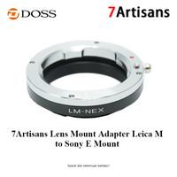 7Artisans Lens Mount Adapter Leica M to Sony E Mount