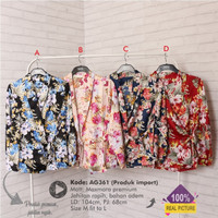 atasan kimono wanita | D361 | baju butik murah | baju kuliah