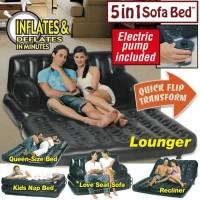Premium Quality SOFA BED KASUR UDARA ANGIN 5 IN 1 HITAM BESTWAY