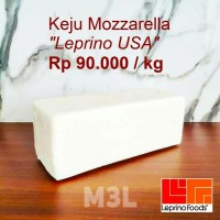 KHUSUS GOJEK Keju Mozzarella Leprino 2.75KG Block Mozarella Cheese