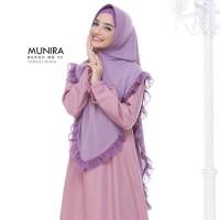 Hijab Instan Syari ORI Munira MB 32 Jilbab Jersey Mix Ceruty Pet Busa