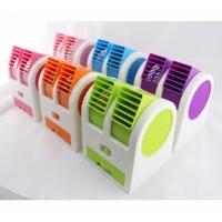 AC Duduk Mini Portable Double Cooler Fan Kipas Angin Aroma Terapi