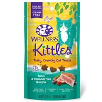 Wellness Kittles Cat Treats Tuna & Cranberries Recipe 2oz