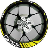 Decal Stiker Velg Honda CB150R Hitech Versi Lebar
