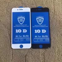 yang paling murah Tempered glass 10D iphone 7 8 + plus full screen 6D