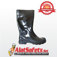 Sepatu Boot Karet Hitam Panjang / Sepatu Boots PICCO (Sepatu Safety)