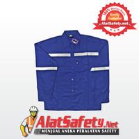 Wearpack Atasan Biru Dongker Asgard / Wearpack Bengkel Best Quality