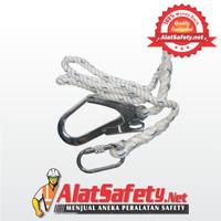 Single Lanyard Safety Big Hook / Rope Tali Body Harness