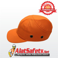 Topi Safety Orange / Hard Cap / Working Cap / Safety Hat