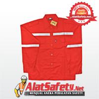 Wearpack Atasan Merah Asgard / Wearpack Bengkel Best Quality