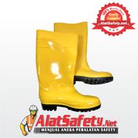 Sepatu Boot Karet Kuning Panjang / Safety Rubber Boots Yellow