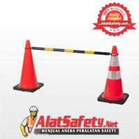 Traffic Cone Bar / Retractable Cone Bar / Pengaman Jalan Best Quality