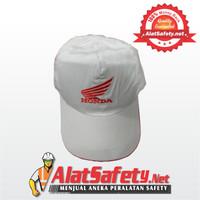 Topi Honda / Topi Kerja Honda Putih FLP