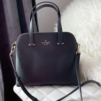 KS MAISE MED DOME SATCHEL - BLACK