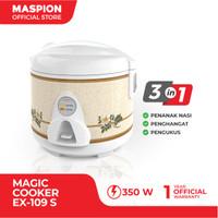 Maspion Magic Cooker EX-109 S Batik Sahara - Penanak Nasi 1.0 Liter