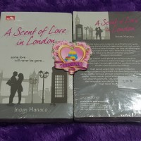 A Scent of Love in London by Indah Hanaco ORIGINAL