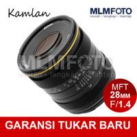 KAMLAN 28MM F/1.4 OLYMPUS MFT-MOUNT PANASONIC M4/3