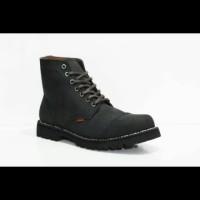 Sepatu Boots DR.FARIS ORIGINAL dari Kulit