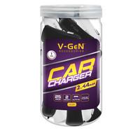 Car Charger V-GeN JVCC5-01 AUTO ID 2 Port 2.4A (1 Toples @25 pcs)