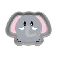 Babysafe Animal Shape Plate FS404 - Piring Makan Anak