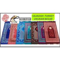Sajadah Turkey / Turki Timbul Besar