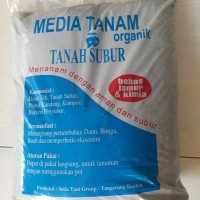 Media Tanam 100% Organik tanah dan komposnya 1:1