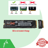 Converter SSD Macbook Pro Air Retina Sintech M.2 PCIe X4 NGFF Adapter