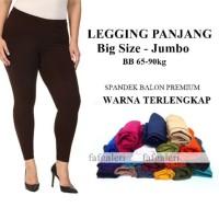 JUMBO WANITA BEST QUALITY Celana legging Panjang wanita FL-0610-NA