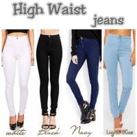 DricoJeans Celana HIGHWAIST punny FL-0929-NA