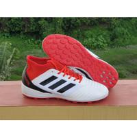 Sepatu Futsal Predator Tango 19.3 White / Red TF Replika Impor