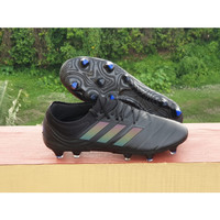 Sepatu Bola Copa 19.1 Black / Grey Six FG Replika Impor