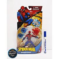 Action Figure Spiderman Swing or stick zip line Hasbro