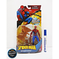 Action Figure Spiderman Snap-on Rocket Armor Hasbro