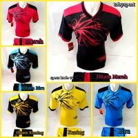 Kaos Olahraga Setelan Jersey Voli Baju Futsal Kostum Bola